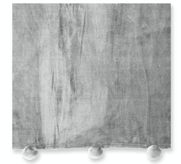 PLAID POM PON – GRIGIO, 130X160